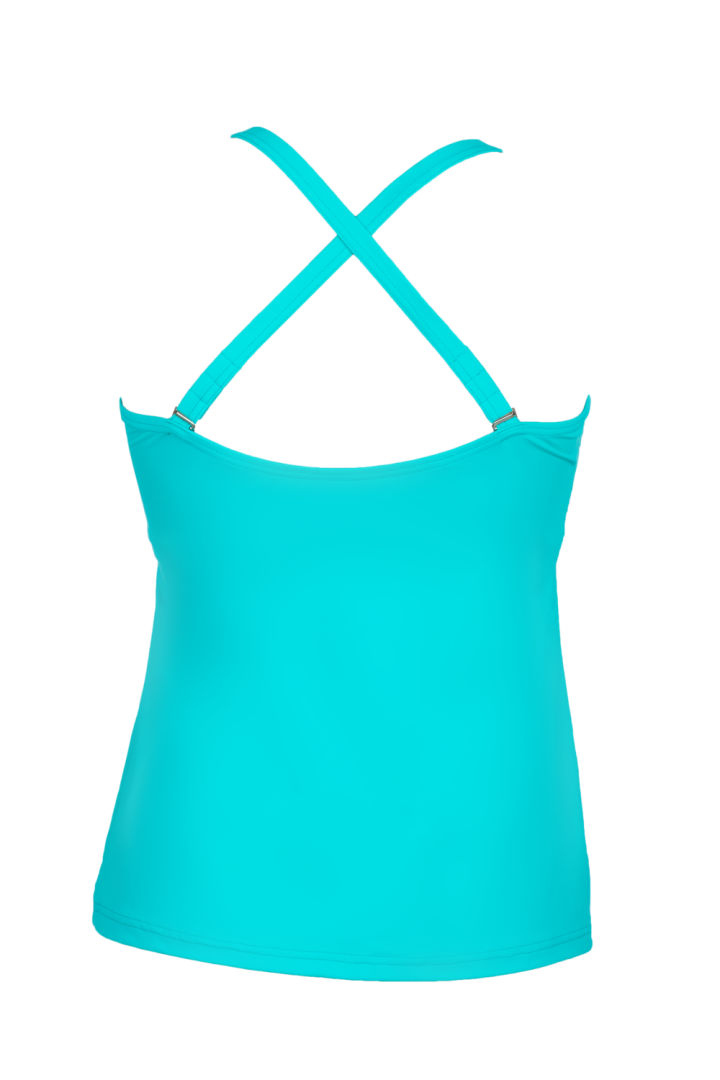 AQUA Pink Ribbon tankini top