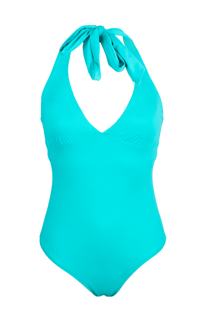 AQUA Low-necked one piece swimsuit