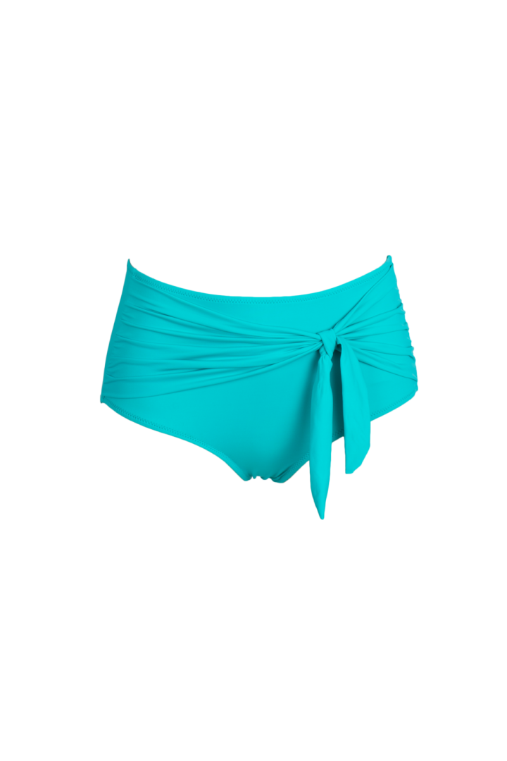 AQUA High waisted bikini bottom